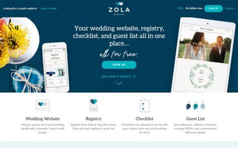 Top Five Places to Build Your Wedding Website