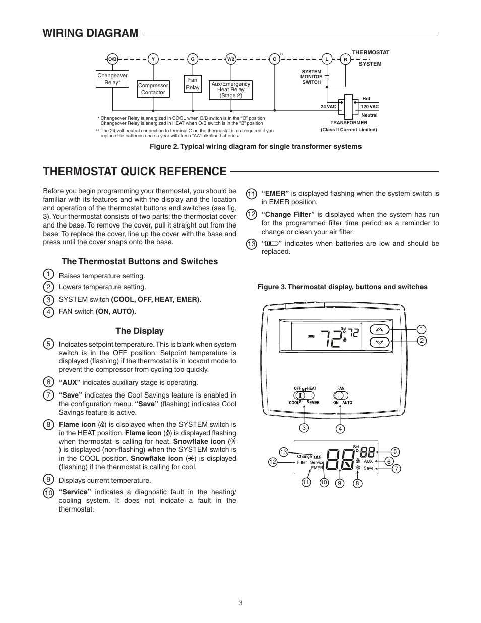 Emerson Thermostat Wiring Diagram