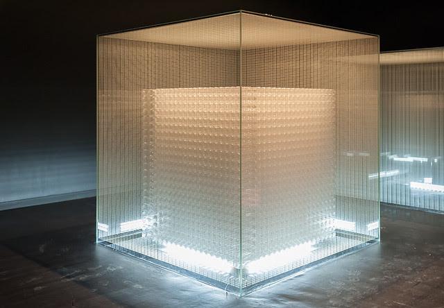 """""""Four cubes to contemplate our environment""""  (Tadao Ando), château La Coste, Le Puy-Sainte-Réparade"""