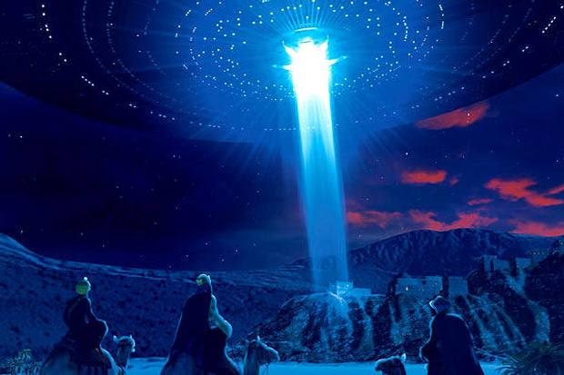 «Ellos, después de oír al rey, se pusieron en camino, y he aquí que la estrella que habían visto en Oriente iba delante de ellos, hasta que llegó y se detuvo encima del lugar donde estaba el niño. Al ver la estrella se llenaron de inmensa alegría». Evangelio de Mateo (2:9-10).
