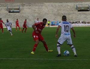 Botafogo-PB x América-RN, Amistoso, América-RN, Botafogo-PB, América de Natal, Bismarck (Foto: Amauri Aquino / GloboEsporte.com/pb)