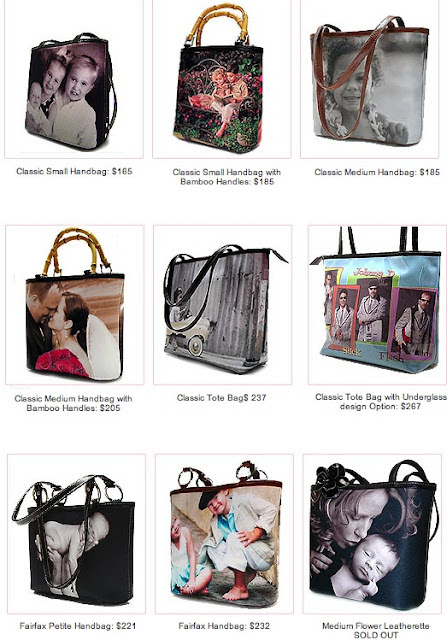 the Gina Alexander designer photo handbag, a wonderful idea for your wedding photos