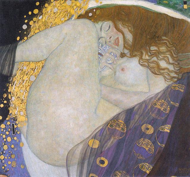 Klimt - Danae - 1907-08