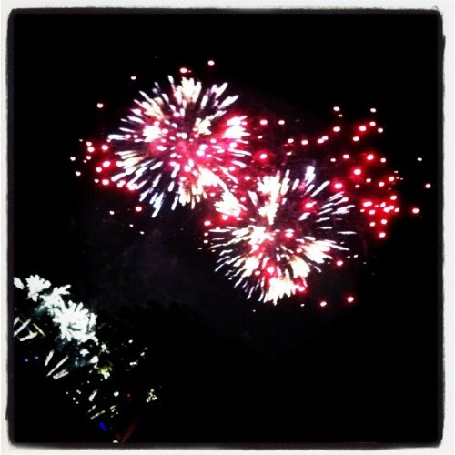 Pretty fireworks  (Taken with instagram)
