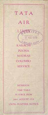 File:Tata Air Lines' Airline Timetable Image, 14 August 1938 (exterior).jpg