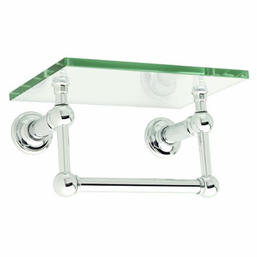 Ginger 4519t 9 Pc Columnar 9 Inch Shelf With Towel Bar Polished