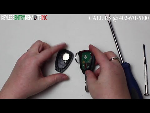 Jeep Key Fob Battery >> How To Change A 2008 - 2014 Jeep Liberty Key Fob Remote Battery - Key Fob Programming Instructions
