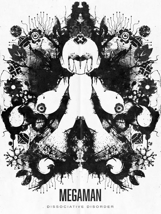 Video Game Ink Blot Tests by Barrett Biggers