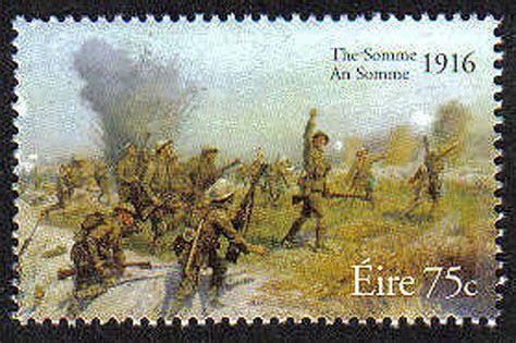 Commem. 2000 08   Ireland 2006 Battle Of The Somme Mnh Stamp