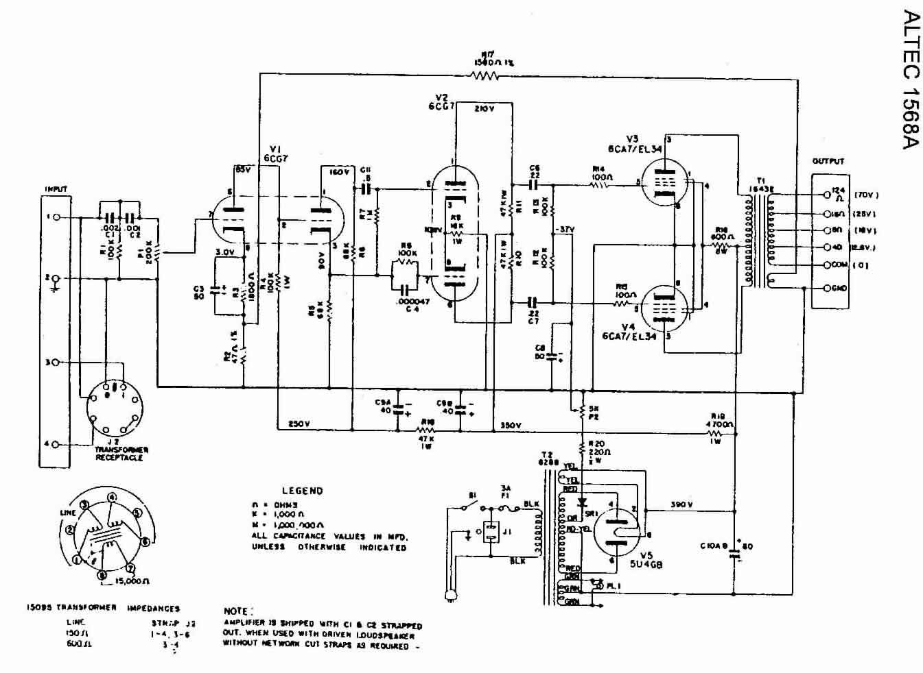 Altec Lansing Vs4121 Schematic Diagram