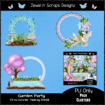Clusters Frame - Garden Party02