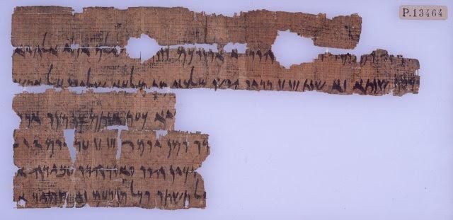 Elephantine Passover Letter Front