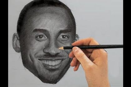 35+ Ideas For Face Kobe Bryant Drawing Easy