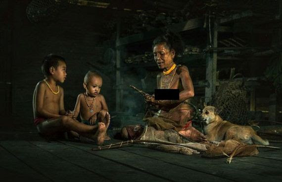 Photos Of The Mentawai Tribe In West Sumatra Show A Civilization Untouched  Barnorama