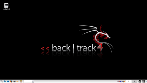 Screen Shoot Desktop Backtrack