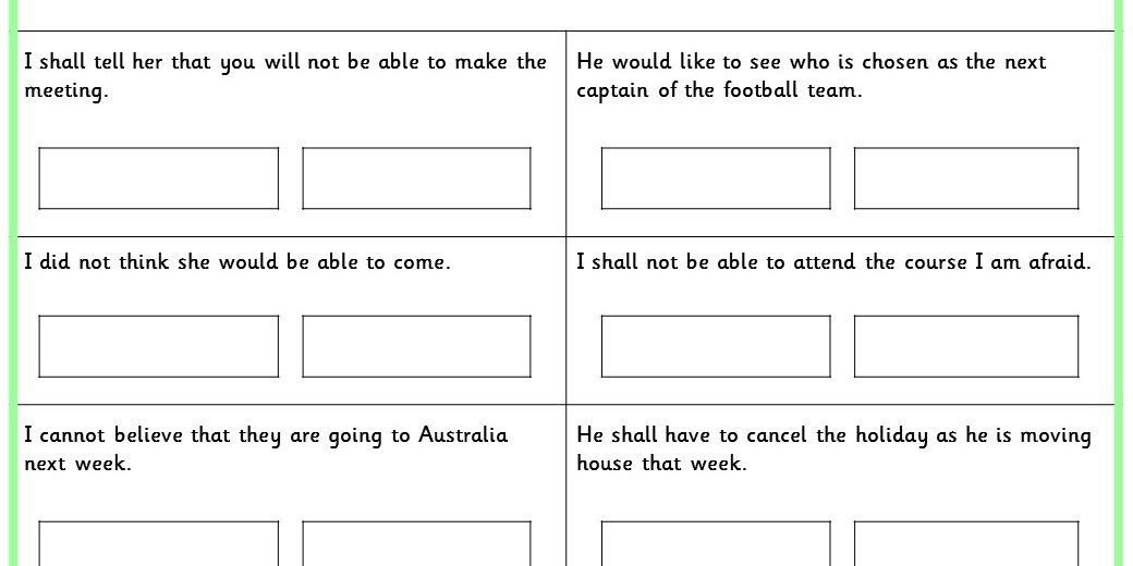 Contracted Words KS2 SPAG Test Practice