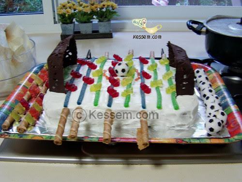 Foosball Birthday Cake 1