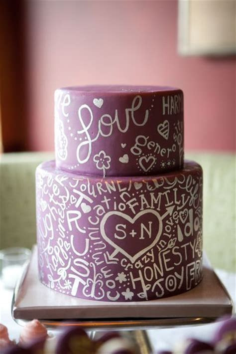Wedding Cake Trend: Cake with Words   Arabia Weddings