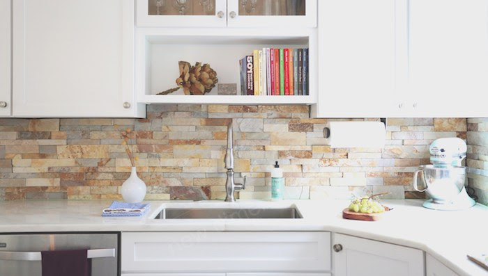 85 Stylish Herringbone Arabesque Mosaic And Subway Tile Kitchen Backsplash Designs To Brighten Up Your Home Architecture Design Competitions Aggregator