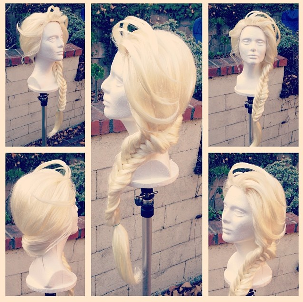 Elsa Wig by glimmerwood