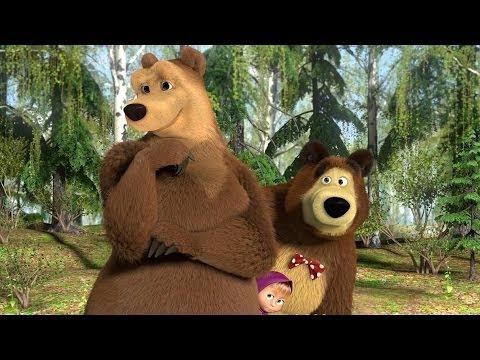 Кадр из мультфильма «Маша и Медведь : Весна пришла! (серия 5)»
