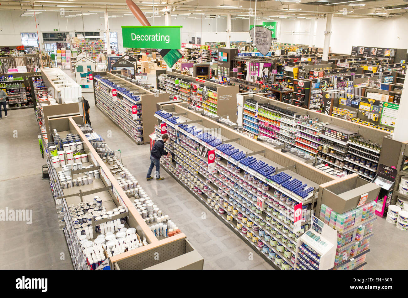 Decorating Store Stock Photos Decorating Store Stock Images Alamy