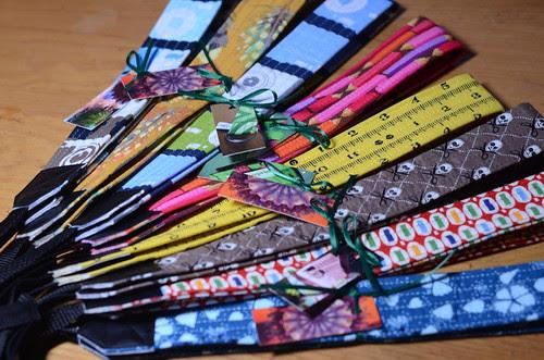 Camera straps by Poppyprint