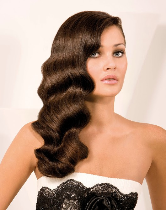 finger waves hairstyle for long hair 21 Simplest Ideas for Long Hair