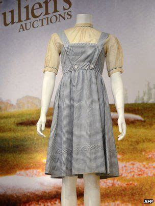 Wizard of Oz dress gets $480,000   Inspiration   Wizard of