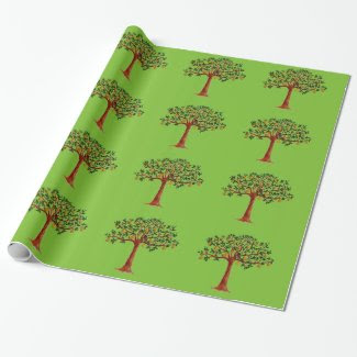 Partridge in a Pear Tree Too Wrapping Paper