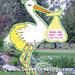 Stork - Yellow