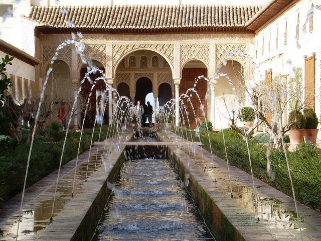 Biombo hist rico el islam la civilizaci n del agua la for Jardin islamico