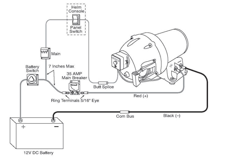 Shurflo Water Pump Wiring Diagram