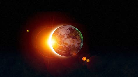 awesome hd solar eclipse wallpapers