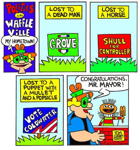 Politics in Waffleville