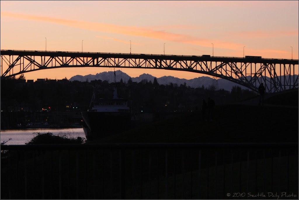 "Sunday Bridge #2:  George Washington ""Aurora"" Bridge"