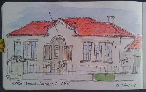 Escola primária de Formoselha - MMV by JMADesigner
