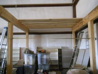 Barn Loft First Floor Joists