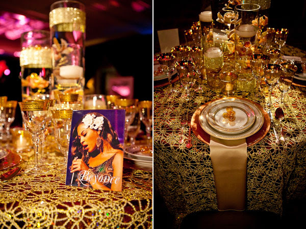 Beyonce Inspired Table Decor by Floramor Spread the Love Share