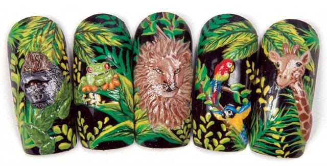 Welcome to the Jungle - Style - NAILS Magazine
