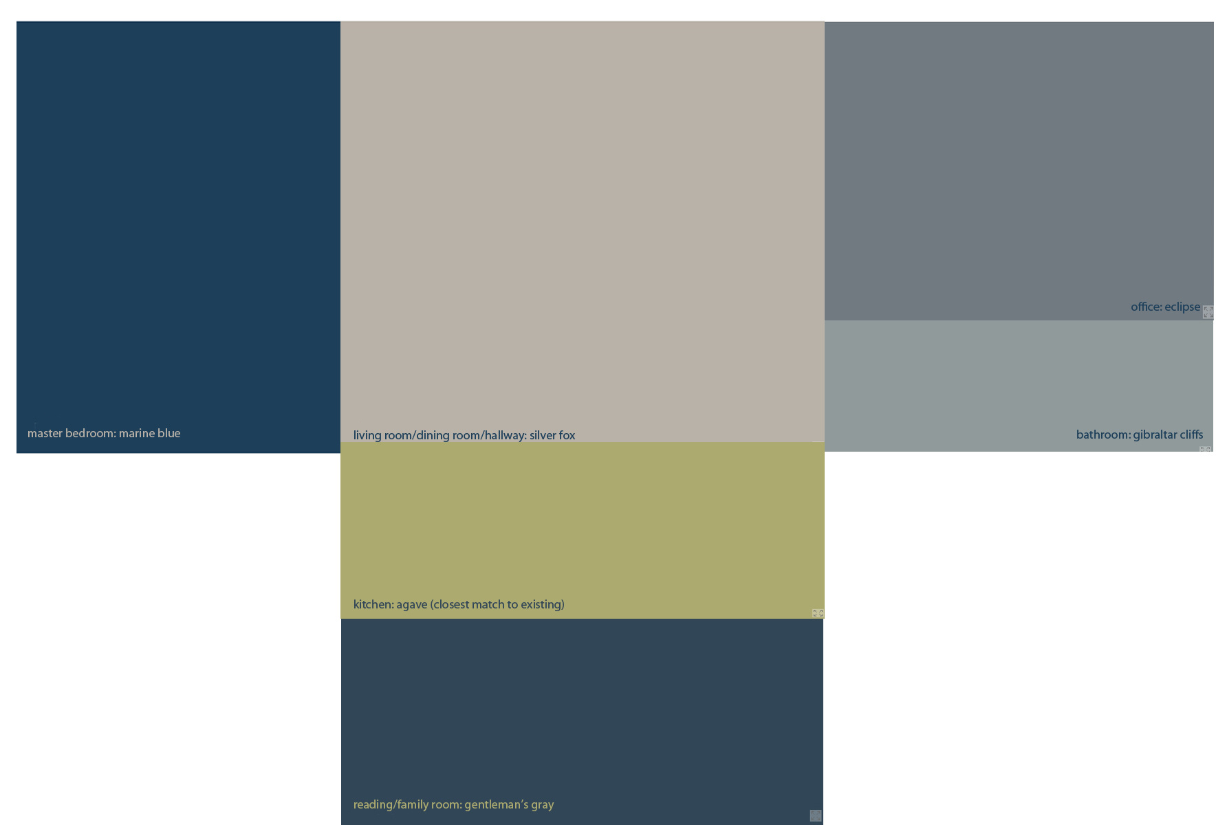 Living Room Color Palettes