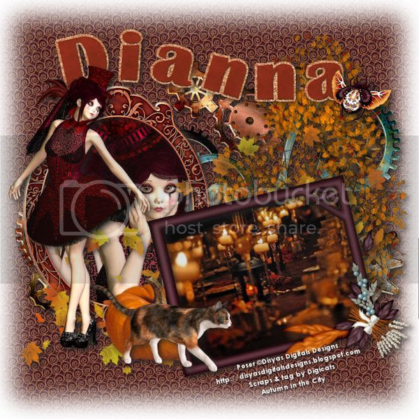 Autumn in the City - Dianna