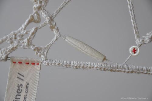 free style crochet coat hanger