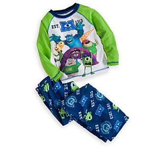 Monsters University Raglan Pajama Set for Boys