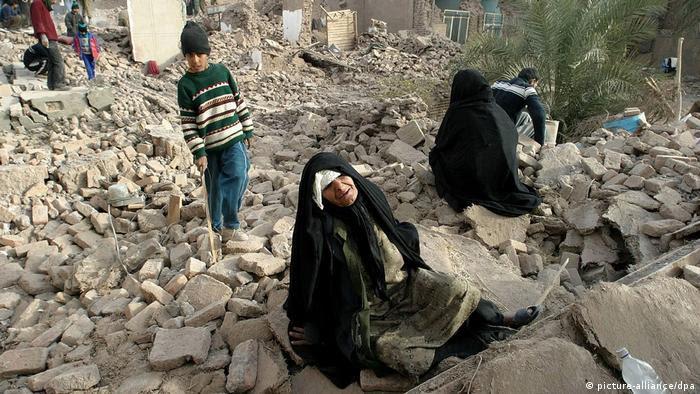 Erdbeben Iran (picture-alliance/dpa)