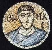 Mosaic Image of the Apostle Thomas