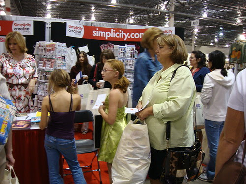 the Simplicity booth