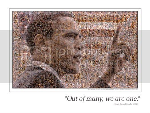 Out of Many Obama