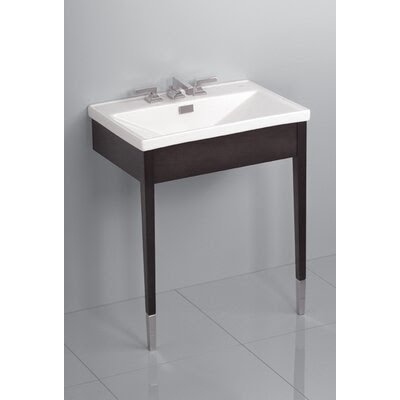 Toto Lloyd Metal Console Bathroom Sink with Luxurious Deep Sink ...