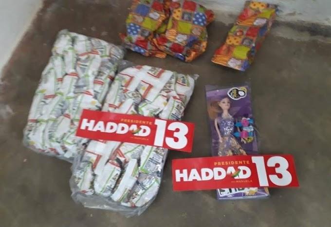 Vereadora do partido de Bolsonaro é presa por comprar votos para Haddad.....